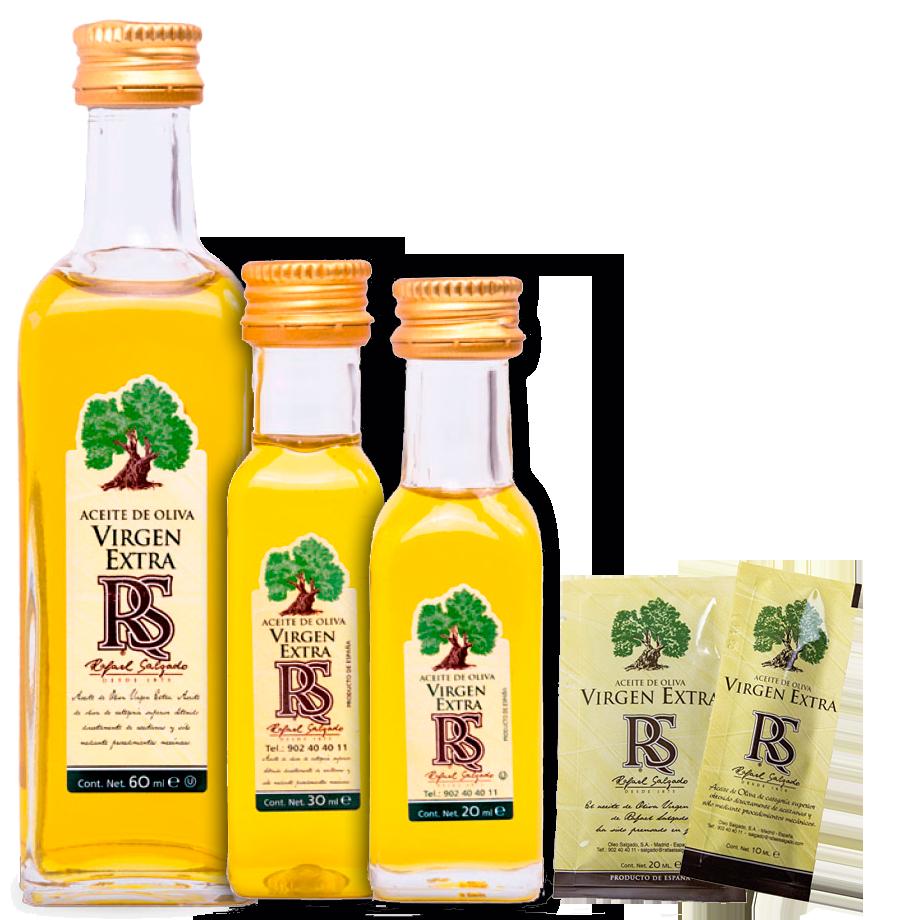 Monodosis aceite, vinagres y Salsas
