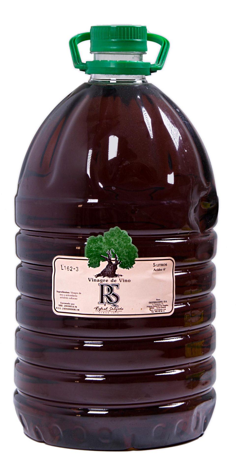 Vinagre de Vino tinto RS 5 litros