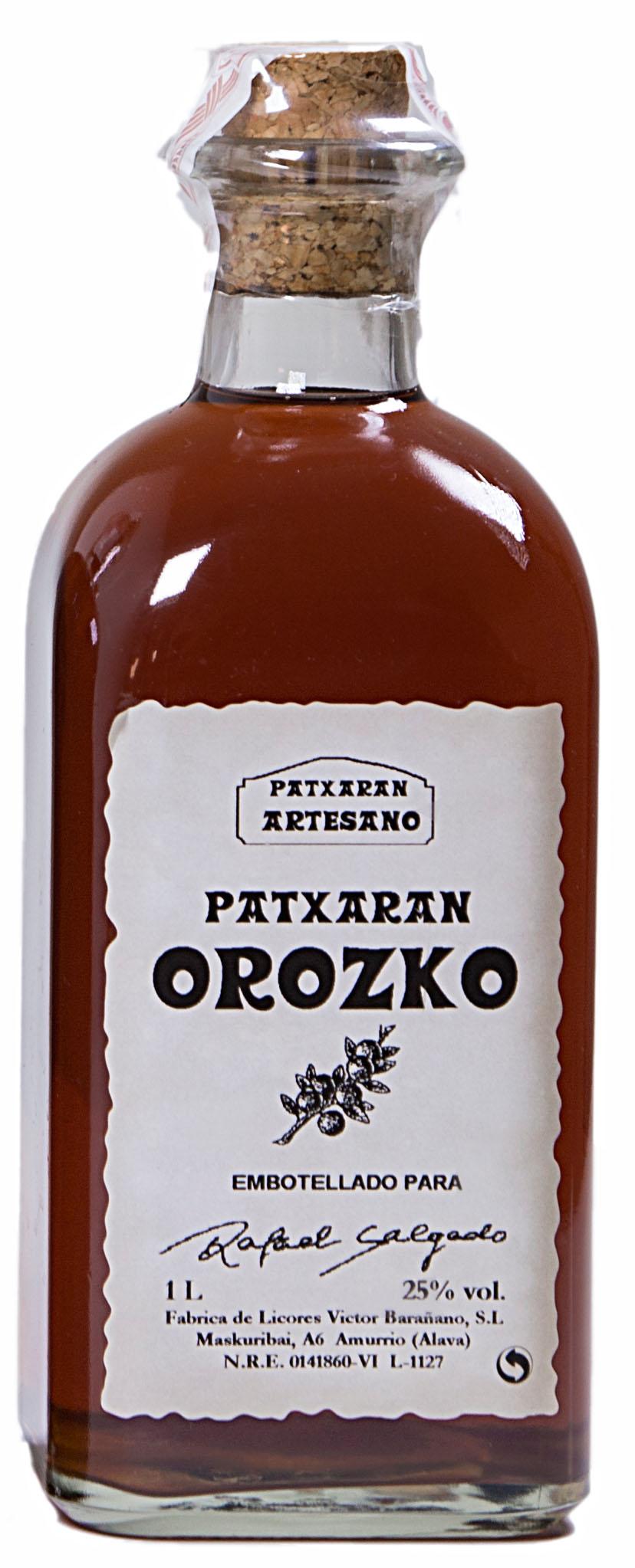 Licor de Patxaran Orozco 1 litro