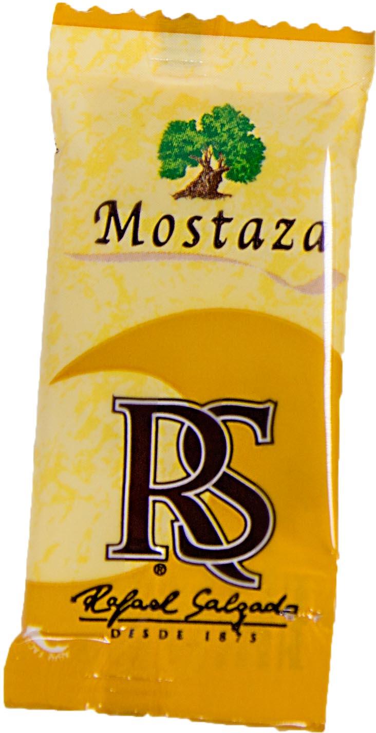 Mostaza Monodosis  6 grs