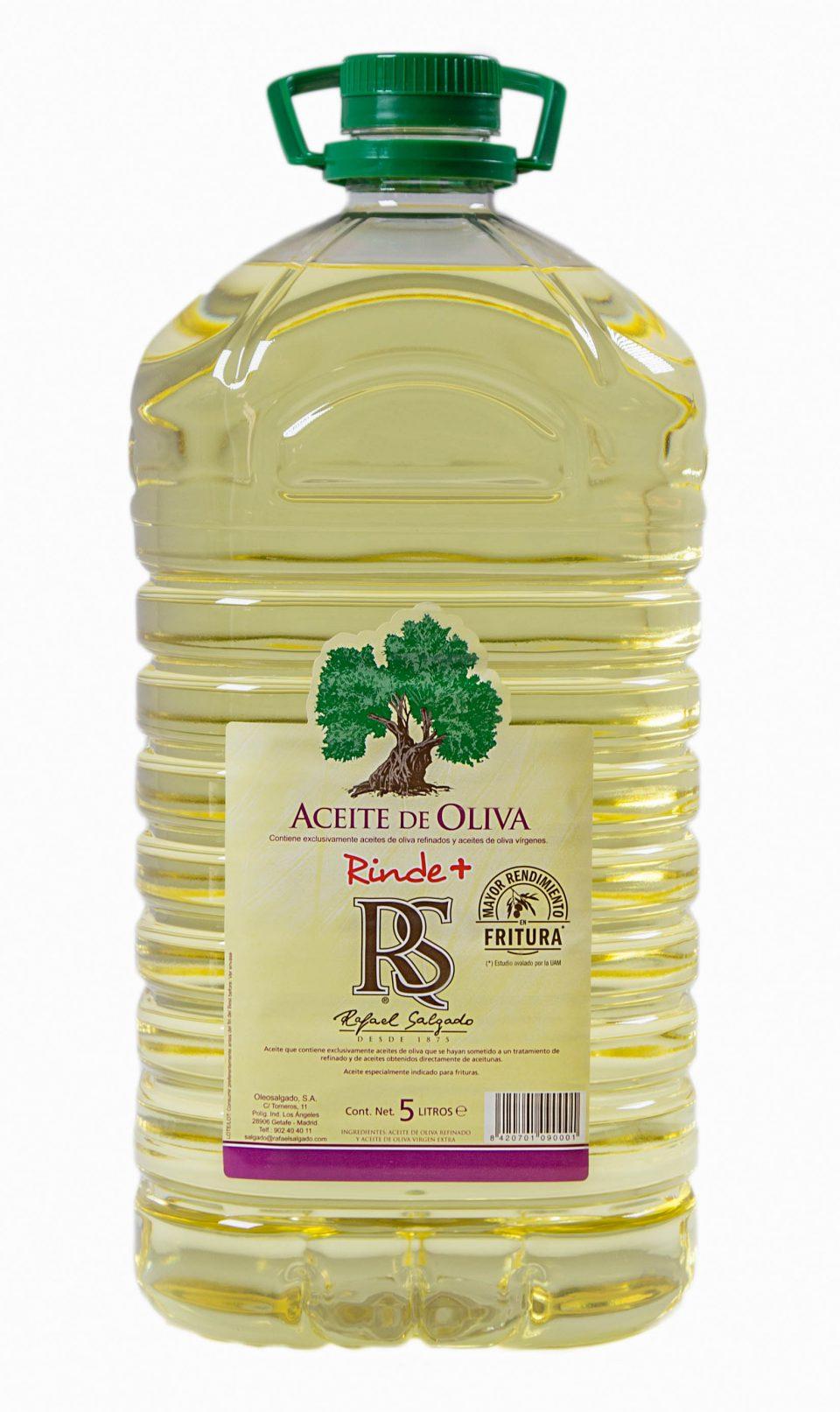 ACEITE DE OLIVA RINDE + 5 litros