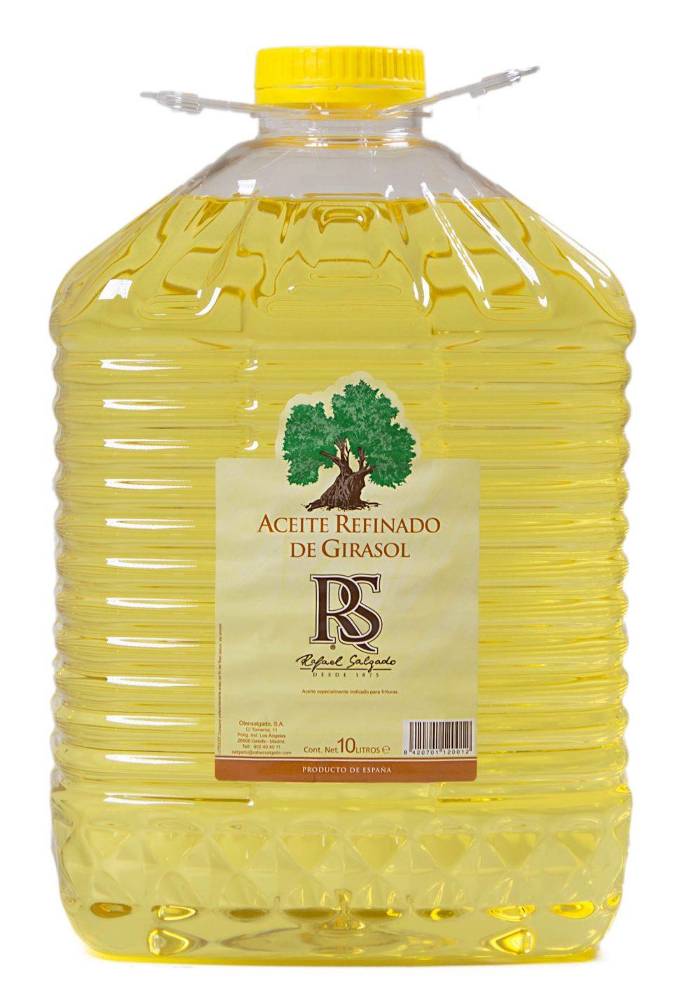 ACEITE DE GIRASOL RS 10 litro