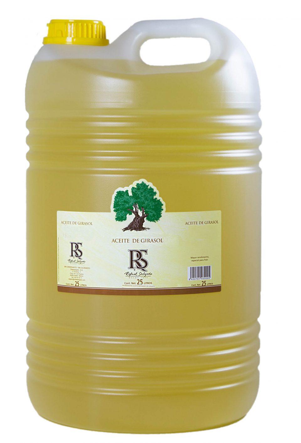 ACEITE DE GIRASOL 25 litros