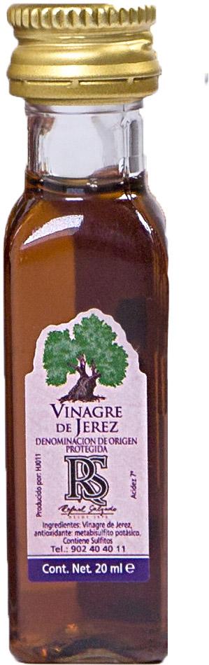 VINAGRE JEREZ  20 ml