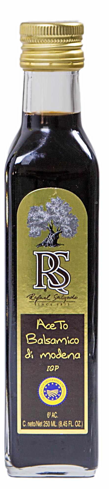 Vinagre de Módena cuadrada  RS 250 ml