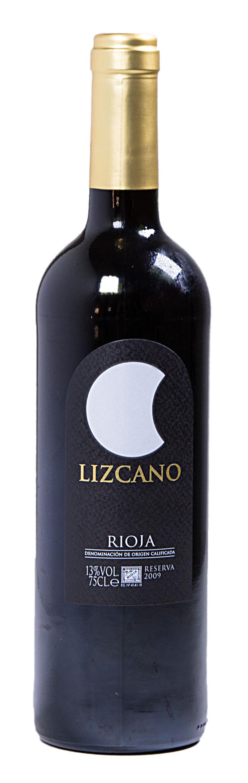 Vino Reserva ciclo lunar Lizcano 75 cl