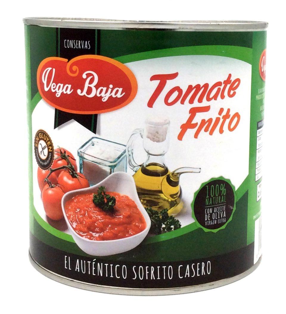 Tomate Frito casero Vega Baja (6x3kg)