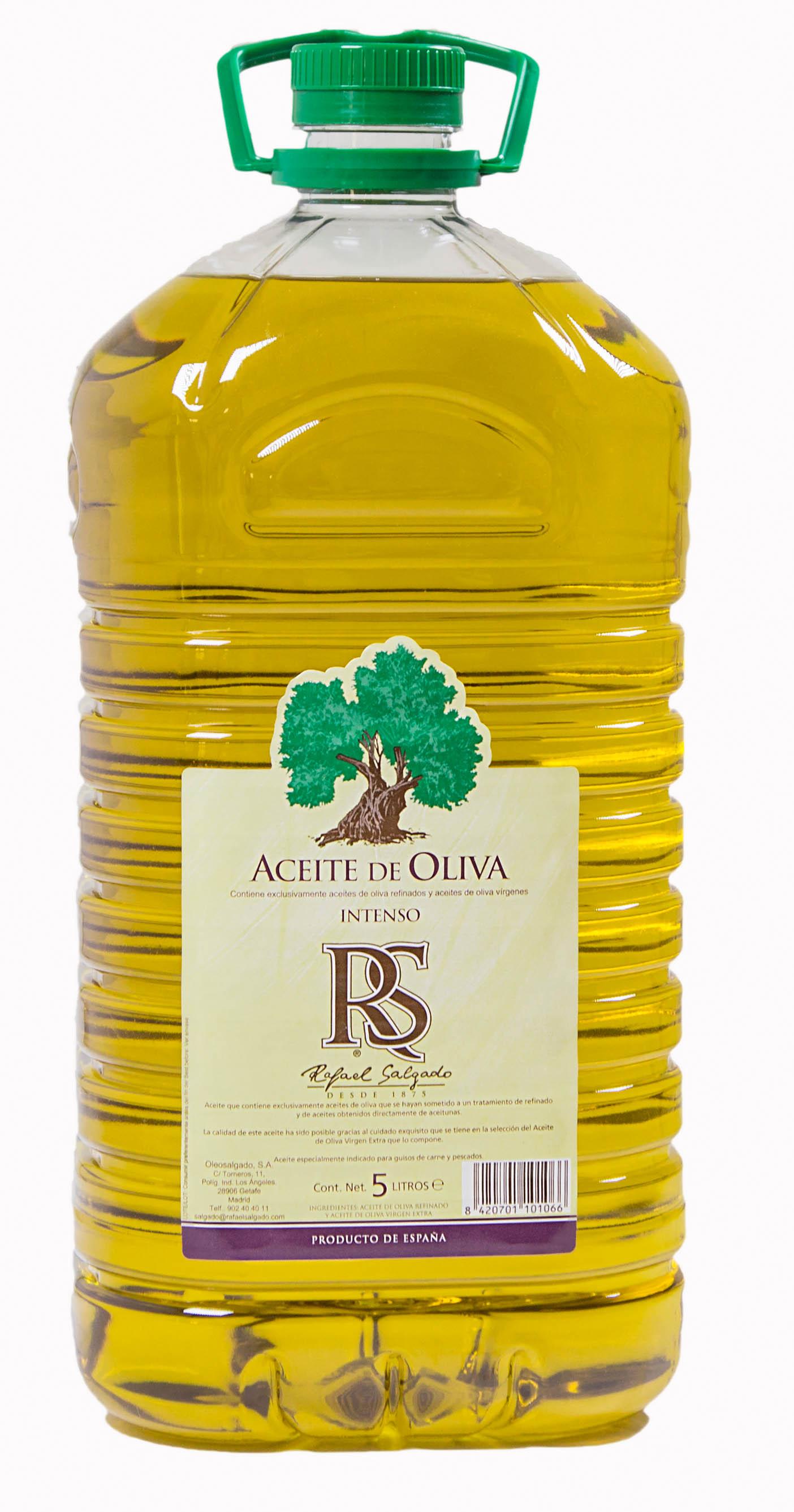 23bd7ba1014 Aceite de Oliva Intenso 1º Bidón RS 5 litros - Rafael Salgado ...