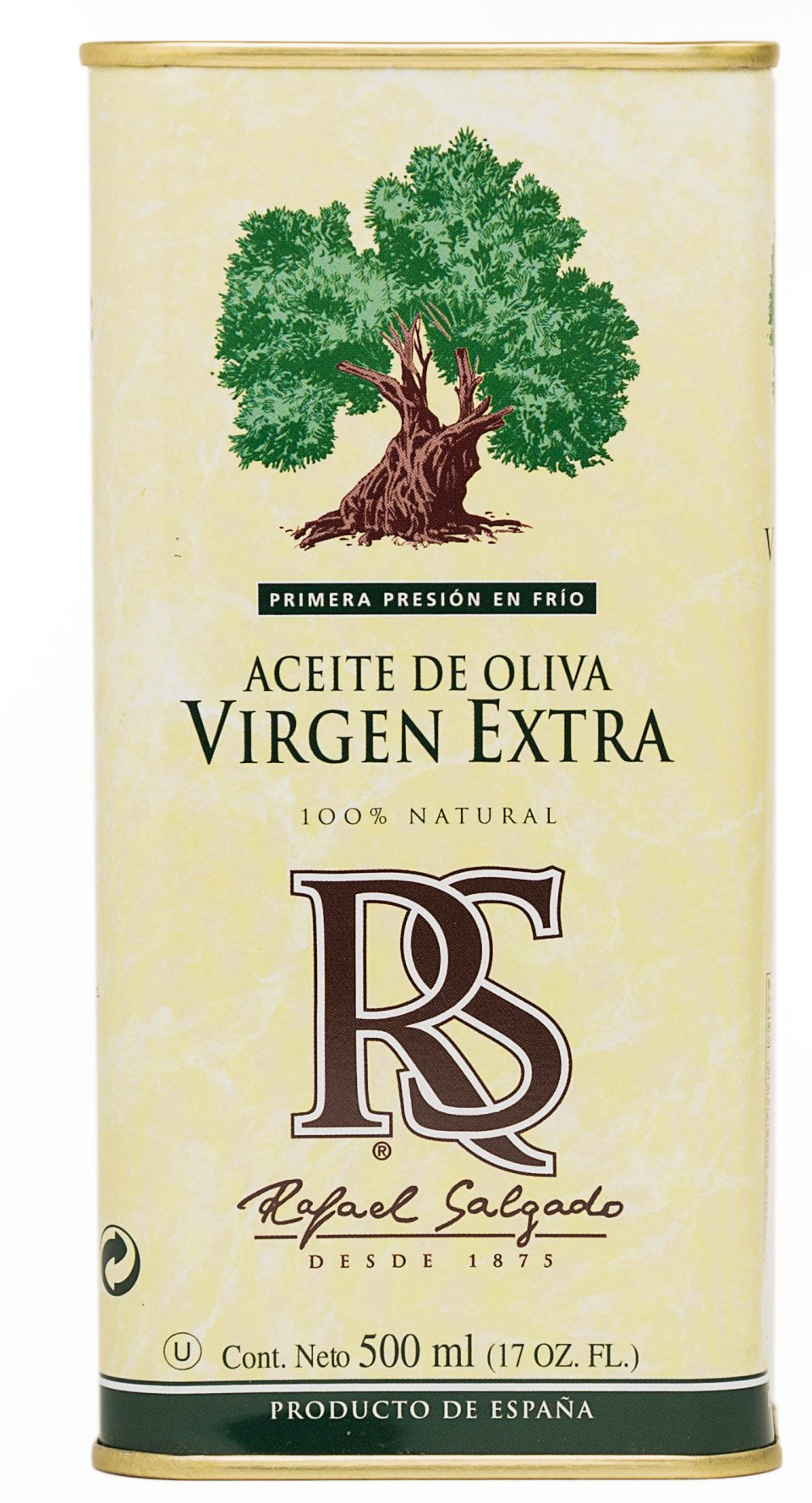 ext.Aceite de Oliva Virgen Extra lata 15x500 ml RS 500 ml