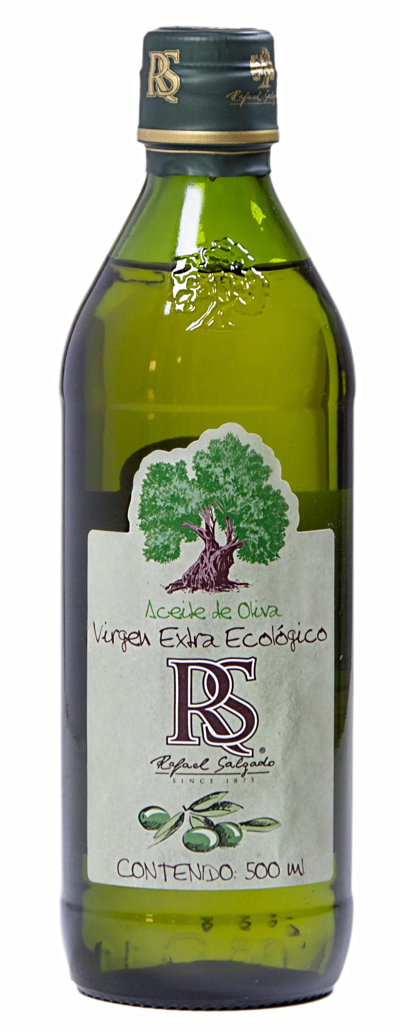 Aceite de Oliva Virgen Extra Extra Ecológico ovalada cristal 500 ml