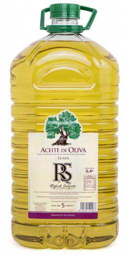 Aceite de Oliva Suave 0,4º Bidón RS 5 litros